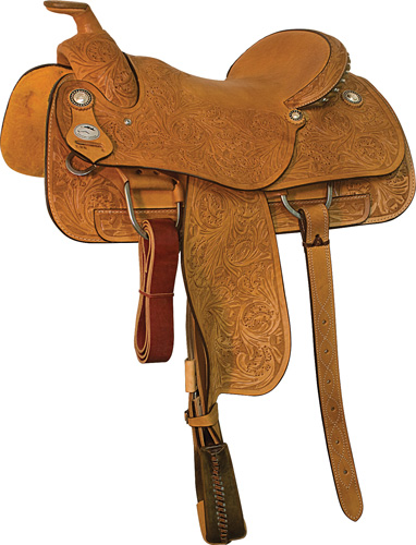 The Bulldogger Saddle