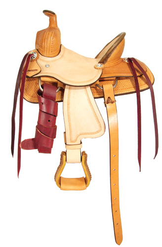 Little Rancher Youth Roping Saddle - OZARK 1018-12