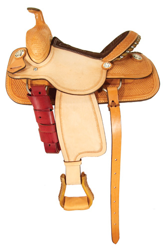 Little Champion Youth Roping Saddle - OZARK 1019-12