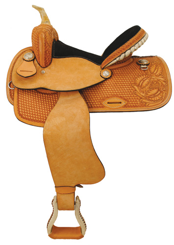 "Turn and Burn Barrel Racing Saddle Package - 13"" - OZ 1053-13"