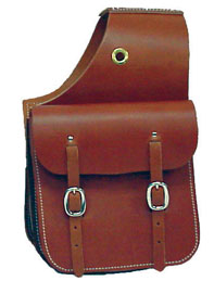 Double Buckle Saddle Bags 11' X 11'