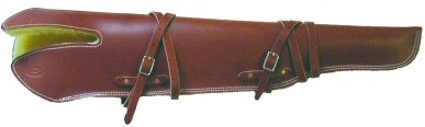 Bolt Action Scabbard sized for a Scope