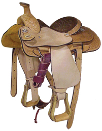 Half-Breed Youth Roper Saddle