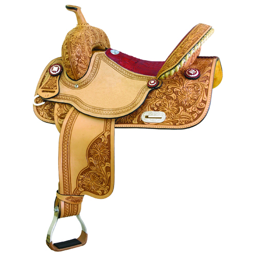 Connie Combs Gaitor Barrel Racing/Show Saddle - ACTION COMPANY 292-206-4/6