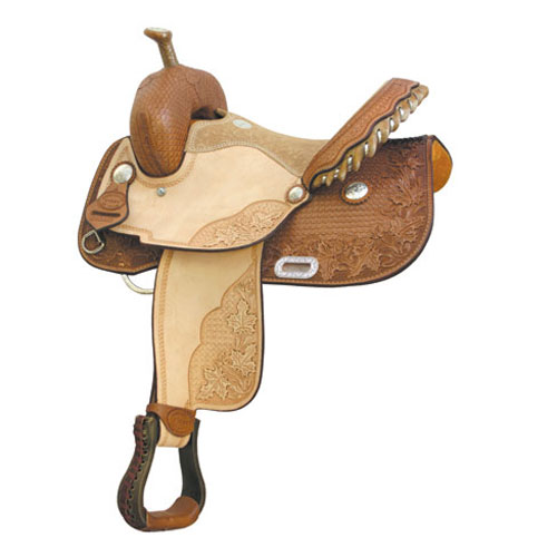 Connie Combs Maple Star Barrel Racing Saddle - ACTION COMPANY 2912254CC/6CC