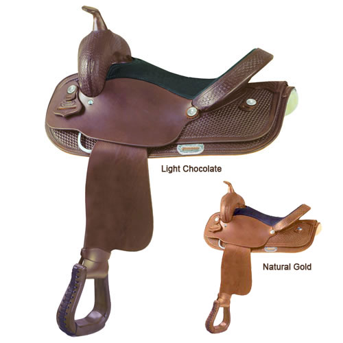 Simco St Jo Trail Saddle (Color: Lt Chocolate, Size: 15)