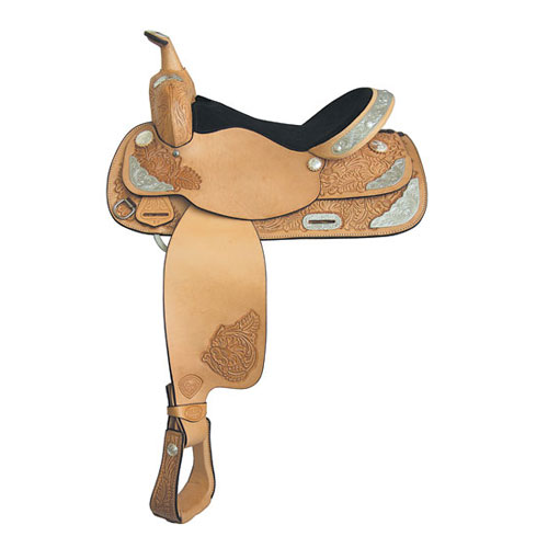 Simply Sweet Show Saddle (Color: Natural Antique, Size: 13)